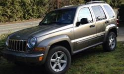 Make Jeep Colour Brown Trans Automatic This vehicle belongs to my mom and has had regular maintenance. It is a 2006 with 170 000 kms. It is in excellent condition and recently had new tires put on tow package 4 wheel drive . Asking $6499 OBO. It can be