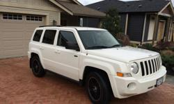 Make Jeep Model Patriot Year 2010 Colour White kms 136000 Trans Automatic Front wheel drive. ***Just service and went through inspection. New windshield so no chips*** I am the first and only owner of this jeep. Accident free. Lady driven 2010 Jeep
