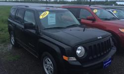 Make Jeep Colour BLECK Trans Automatic kms 163000 Jeep Patriot North Edition Engine: 4 Cylinder Engine 2.4L 163,000 KM NEW MVI A1 AUTO SALES 3925 Route 1A Travellers Rest Summerside P.E call Ridvan 902-439-0915 FINANCING Start at 4.99 CarProof report is