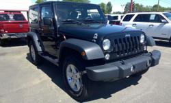 Make Jeep Model Wrangler Year 2014 Colour black kms 51800 Trans Automatic Jeep Wrangler Sport With AC Hard Top Auto 4x4 Ask for Gary D#9332