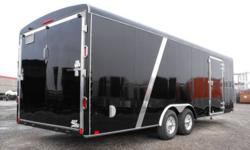 Check out our best built Pro series model trailer!   If you are being sold a car hauler on 3500lb axles... you're being sold a mistake payload is minimal handling is poor - weight will cause wandering resale difficult 5200lb Dexter Torsion Axes Here 8 Ply