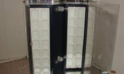 Sterio silver case with glass case with key for door great for display case asking $20 for it