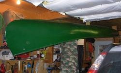 """Own a piece of history. This is a real Kay boat! According to the stamp in the bow, the canoe is made by legendary guide and fisherman, J Kay, in Port Sydney, ON. Length is 15' 4"""". Floats like a leaf on the water. Meticulously stored high and dry (see"""