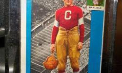 1955   topps Jim Thorpe Rookie card. Good shape ,no creases. Asking $200.00 o.b.o.
