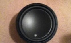 Selling my JL 12W3 500W peak and 250W RMS. its 3 months old and only used for a month. $175 OBO email me or text me at 519-774-8607.