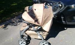 It pains me but it's time to accept that I won't be needing my baby strollers anymore :'( Jogger - I have Rocky Rivers jogging stroller available. Lightweight, easy to fold. Working hand brake. Sun shade but plastic under flip up window is torn. Tires in