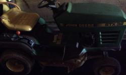 9hp Koehler 30 inches cut make a great ride on for a cottage or small lawns