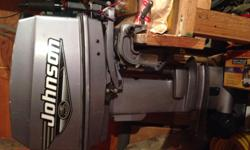 25 Johnson Boat Motor short shaft Year 2000 Excellent condition Call 306-695-7150