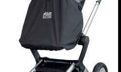 Jolly jumper weather safe stroller cover in black. Rarely used. See link for picture. Pick up in Fairfield. Please email.
