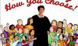 """Judge Judy Sheindlin's """"Win or Lose by How You Choose!"""". This book presents situations and the young reader has to select what the best way is to handle things. Hardcover Non-smoking home."""