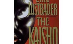 The Kaisho - Eric Lustbader -Nicholas Linnear victorious in WHITE NINJA, looks forward to nonlethal commercial struggles with his beloved Justine at his side. Unfortunately, Justine is unhappy with her life in Japan; Sato-Tomkin, Inc., the high-tech