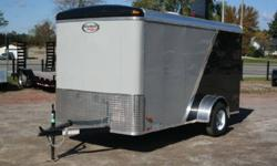 KargoMax  ENCLOSED TRAILERS 5? x 10?  from $2395     Our enclosed trailers come standard with wedge nose (v-nose), and barn doors Single Axle 2990 GVWR standard  (optional Tandem axle) Various Colours available Various options available to suit your