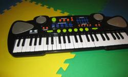 For sale lightly used Kawasaki Piano. In addition to variety of instrument sound options, it has demo songs and rhythms.