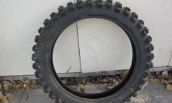 KENDA Studded MOTORCYCLE TIRE 4.60 - 17 Good Condition K - 257D $40