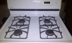 This white Kenmore gas stove is well taken care of and in great shape. It has a self cleaning option and interior light. Ready for pick up to the person who can get there first!