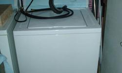 Kenmore washer and dryer, 6 years old both in good condition. Asking $250 o.b.o.