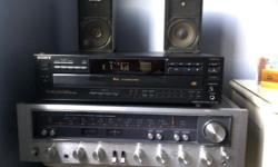 1) Kenwood AM/FM Stereo Receiver Model KR-6600, heavy unit Premium condition -- SOLD -- 20 1/2 inches wide x 14 1/2 inches deep x 5 1/2 inches high $175 http://vintageelectronics.betamaxcollectors.com/kenwoodstereoreceivermodelkr-6600.html 2) Sony 5-disc