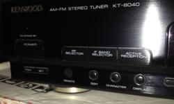 Big brother of the famed reference KT-5020 - rarely found in North America most were sold only in Europe. I purchased this new right here in Victoria in the 1990's, it was expensive. Original styrofoam packing is gone, but box remains. Want to see this go