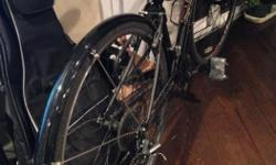 My bike was stolen from my apartment lock up at Oak Bay Junction. (Ulock was on it but they dismantled it and slipped it out. Next time I be more careful when locking the frame and tire.) - It's all black with black front and back fenders, - a black wire
