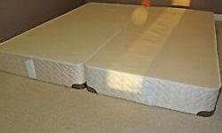 King Size Sealy Posture Pedic Boxspring.... $80 Great condition... Moving sale Delivery available for $20