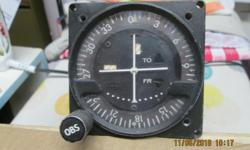 King KI 211C VOR/Glideslope indicator, Has built in 20 channel glideslope receiver and works with all King KX 170B and KX 175B.