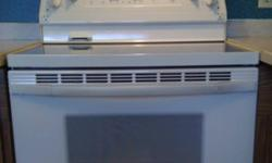Self-Clean, excellent condition, almond colour, VERY clean, convection oven, black ceran top This ad was posted with the Kijiji Classifieds app.