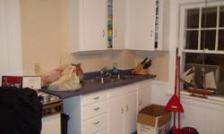 Kitchen Cabinets with counter top & Double Sink For Sale 1 Set of Uppers & lowers   Can Deliver for Free with 10 km of bridgewater