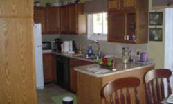 We are asking $1.000 for complete set of kitchen cabinets including counter and sink. Taps not included. Cabinets are oak finish , sink and counter only 3 years old. Cabinets are suitable for home or a cottage. Call = 705-759-1559 for more information. [