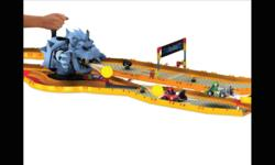 Bring Mario Kart Wii to life. Help Mario and Yoshi dodge fireballs as they race past the Giant stone browser from the castle track. The set includes the parts to build Mario and Yoshi, 2 Karts and super-fast, battery powered motors, a stone browser that