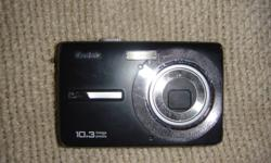 Hello, I am selling my 10.3 mega pixel Kodak camera.  I has a couple of scraches on both sides and does not come with it's original box.  Please don't be shy to email my your offer :) Thanks! Oh and I also don't have any wires or cables to it, I am