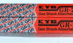 For Sale: Pair of KYB GR-2 Gas Shock Absorbers. Parts bought new in box for a GM vehicle no longer on the road. According to this website, the absorbers will fit these vehicles:.
