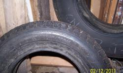 2 new tires for truck or SUV.