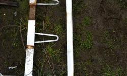 ladder rack off dodge van bolt thru roof type , two pcs , adjustable width Call Dave 250 710 7278