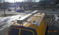 Van ladder rack for sale. $400 or best offer.