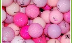 I am selling 12 pink golf balls in good condition. Don't miss your chance. Located in Gloucester close to Blair