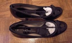 LADIES ANNE KLEIN AK Size 7 BLACK PUMPS SHOES - Size 7 Black Pumps, worn once, like new Cost: $30 Pickup in MARKHAM around Woodbine and 16th Avenue during evenings/weekends PLEASE LEAVE CONTACT # if you wish to buy this