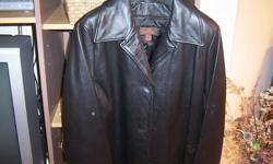 I have a black Danier leather jacket (blazer style) for sale.  It has a zip out lining for winter wear.  It is size small.  Paid $300 asking $70.00 Worn twice.