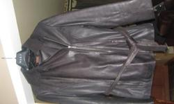 Black leather jacket, size small, hardley worn, like new condition.  Paid $250. Serious inquiries only please !