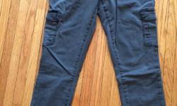 Ladies Paige premium denim cargo pants. Never been worn. Great pants. Size 29. Skinny leg.
