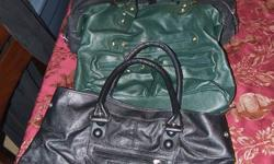 8 clean, gently used purses. A couple have a small hole in the lining or a small inkstain, but the outside are completely free of flaws. $5.00 each or $30 for all of them. Please see my other ads. Thanks!