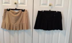 Black Skirt x 1 Brand: Digital Size: 5 Beige Skort x 1 Brand: Digital Size: 5
