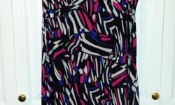 Ladies Multi-Colour Summer Dress Brand: Miss B Size: Large