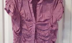 Ladies Lavender Top Brand: George Size: Large