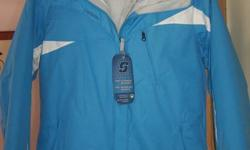 Brand New with tags. Never worn. Mint condition.   Columbia jacket (Euphoria Pass Parka) with inner linner that can be worn separately. Waterproof and Breathable   msrp over $200. Selling for $60 Size small Can send measurements if you wish   Non-smoking,