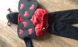 2pc lady bug costume. Sz 4-5t from old navy. Great for cold Halloween night This ad was posted with the Kijiji Classifieds app.