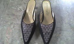 this selling price even cheaper than the 2nd hand store.   the heels are not dirty or damaged   it is just the style   sell for $5   pls call 604-767-8600