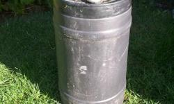 In great shape. Have used this barrel for downpipe to have water for plants.