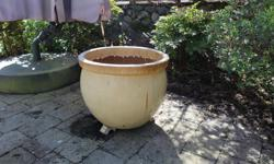 This pot is in really good condition and purchased from Garden Works. We just don't need it anymore.