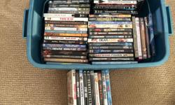 The collection is 50 DVDs and 155 Blu-Rays. Large number of the Blu-Rays are combo sets (Blu-Ray, DVD). All of them are in excellent condition. Want to sell as a set.