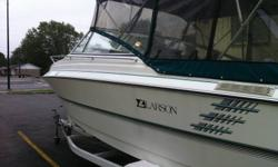 I have for sale a 1993 Larson 23ft cuddy cabin boat for sale. I just put in a brand new 5.0l mercury motor from mercury a few months ago $4000. Engine only has 2 hours on it and is warrantied until next year. The boat itself is in excellent condition. It